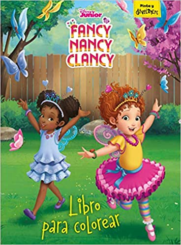 Fancy Nancy Clancy Libro Para Colorear Disney Fancy Nancy Clancy Spanish Edition Disney Editorial Planeta S A 9788499519111 Amazon Com Books
