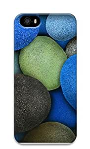 iPhone 5 5S Case Colored Rocks 3D Custom iPhone 5 5S Case Cover