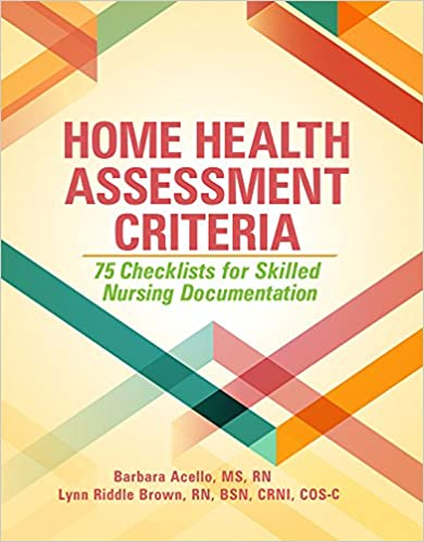 Home Health Assessment Criteria 75 Checklists For Skilled