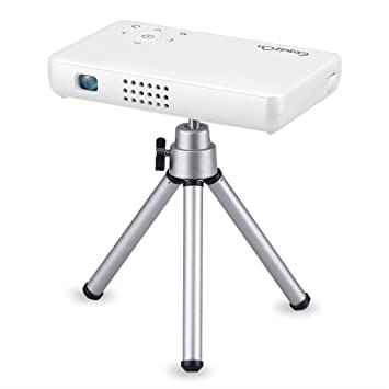 Exquizon GP1S - DLP Proyector 500 Lúmenes LED Mini Proyector ...