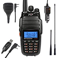 TYT-UV8000E-V-UHF-lt-10-5W-HP-gt-Cross-Band-Ham-Walkie-Talkie-2x-Antenna-1x-Speaker