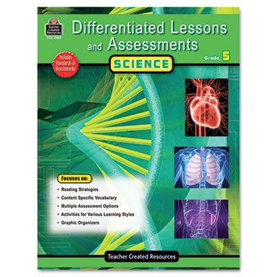 TCR2925 Differentiated Lessons and Assessments Teacher Created Resources