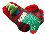 Christmas Winter Cartoon Coral Velvet Thick Floor Socks Warm Socks Couple