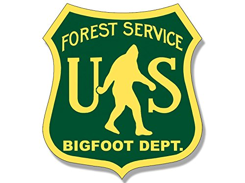 Funny Sasquatch Sticker made our CampingForFoodies hand-selected list of 100+ Camping Stocking Stuffers For RV And Tent Campers!