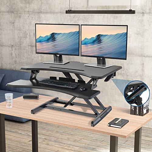 Height Adjustable Standing Desk Converter Stand Up Desk Riser (30