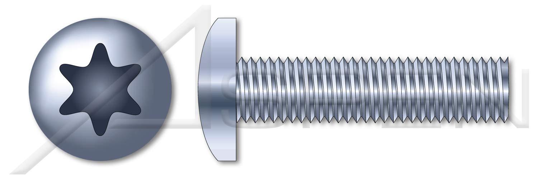 Screwerk Screw for plastics 100 pc TX Washer head with 6-lobe drive Diameter 6 mm x Length 50 mm zinc plated steel