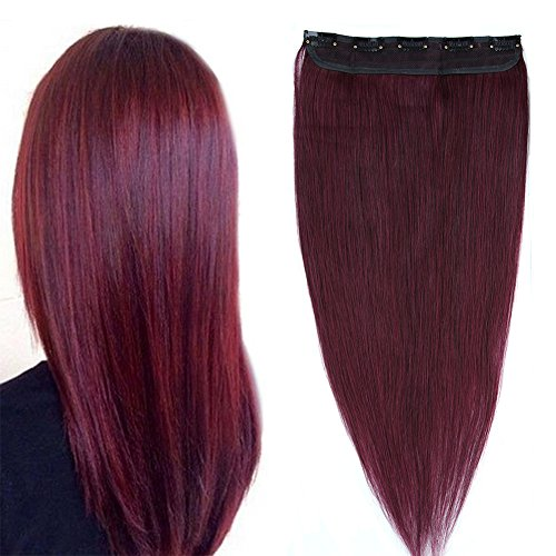Extensions Natural Straight Fashion Burgundy product image