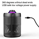 LiPing Indoor Outdoor Use USB Powered Non-toxic LED Mosquito Lamp-, Fly Bug Insect Killer for Porch Deck Patio Backyard Mosquito Killer Lamp,mosquito trap,Night Lights (A)