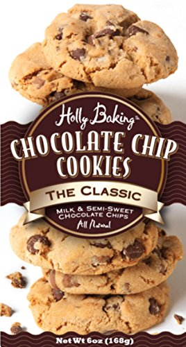 Holly Baking All Natural The Classic Chocolate Chip Cookie (Holly Baking)