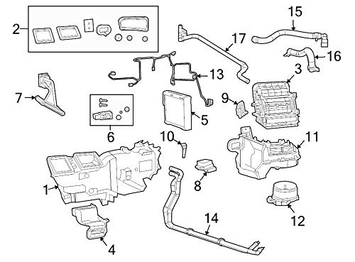 A/c Temperature Switch - Mopar 6800 4239AA, A/C Evaporator Temperature Switch