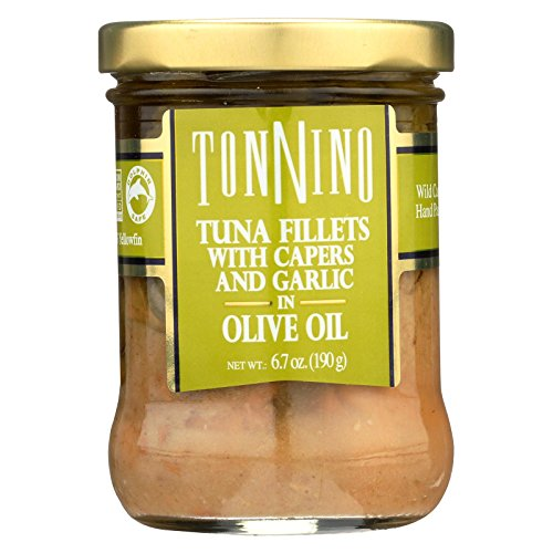 Tonnino Tuna Filet,Cpr/Gar/Olvoi 6.7 Oz (Pack Of 6) (Tonnino Tuna Fillets)