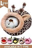 JanYoo Warmer Hedgehog Supplies Toys House Cage