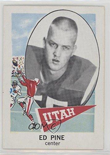Ed Pine (Football Card) 1961 Nu-Cards Football Stars - [Base] #114