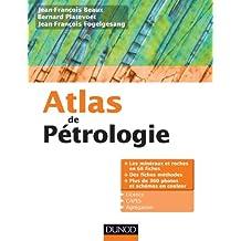 Atlas de pétrologie : Les minéraux et roches en 68 fiches et 360 photos (French Edition)