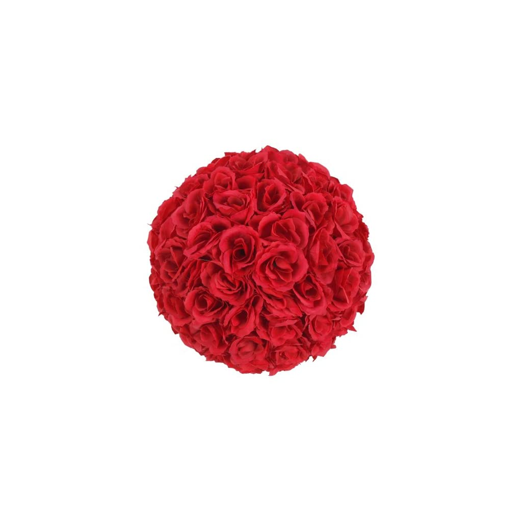 20-Pack-Romantic-Rose-Pomander-Flower-Balls-Rose-Bridal-for-Wedding-Bouquets-Artificial-Flower-DIY-Wine-Red