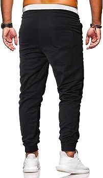 VPASS Pantalones Hombre Pantalones Casuales Moda Deportivos ...