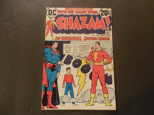 Shazam #1 Feb 1973 Bronze Age DC Comics Capt Marvel