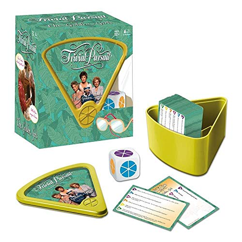 Trivial Pursuit Golden Girls Trivia Game | Golden Girls TV Show Themed Game | 600 Questions to relive all the classic moments from The Golden Girls | Themed Trivial Pursuit ()