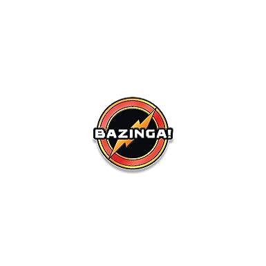 Amazon Ata Boy Big Bang Theory Bazinga 12 Full Color Enamel
