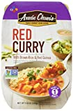 Annie Chun's Red Curry with Brown Rice & Red Quinoa, Non-GMO Gluten-Free Ready Meal, 9-oz (Pack of 6)
