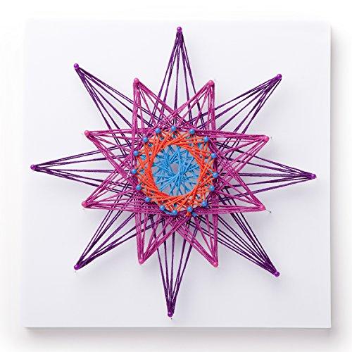 51nXmS7nOIL - Ann Williams Group Craft-tastic String Art Kit III - Craft Kit Makes 3 Large String Art Canvases