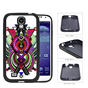 Cool Abstract Tribal Nebula Design Samsung Galaxy S4 I9500 Rubber Silicone TPU Cell Phone Case by lolosakes