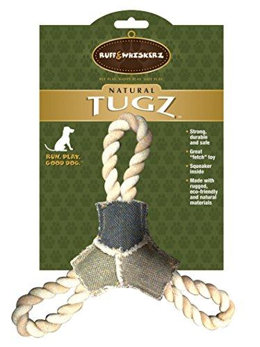 Ruff & Whiskerz Natural Tugz Dog Toy