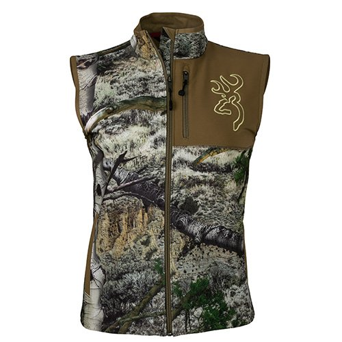 Browning 3056983000 Women's Hell's Canyon Mercury Vest, Mossy Oak Mountain Country, X-Small by Browning