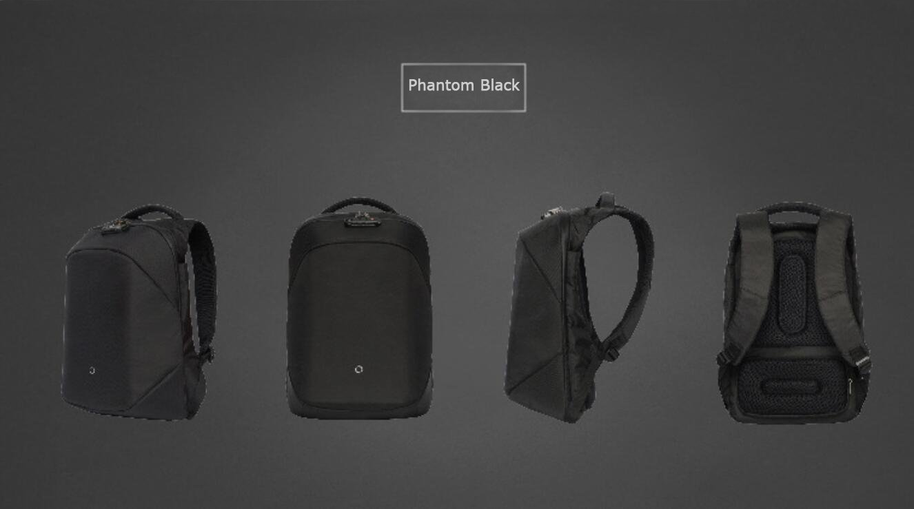 Amazon.com | ClickPack Joy from Korin Design - New Version of Clickpack - Multi-Functional Anti-Theft BackPack (Phantom Black) | Casual Daypacks