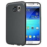 TUDIA Ultra Slim LITE TPU Bumper Protective Case for Samsung Galaxy S6 (Black)