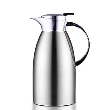 Jarra Termo de café de Acero Inoxidable de 2 litros, Doble ...