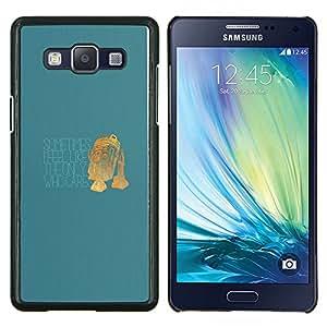 """Be-Star Único Patrón Plástico Duro Fundas Cover Cubre Hard Case Cover Para Samsung Galaxy A5 / SM-A500 ( Único que se preocupa - Funny R2 D2"""" )"""