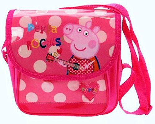 Peppa Pig Rocks Mini Despatch Bag Trade Mark Collections PEPPA001220 Cartoons & Comics
