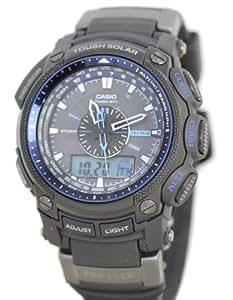 Casio Protrek Quartz Black Dial Atomic/ Solar Men's Watch - PRW5000Y-1