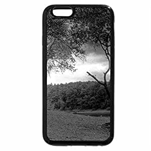 iPhone 6S Case, iPhone 6 Case (Black & White) - AUTUMN in GERMANY