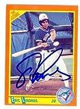 Eric Lindros autographed Baseball Card (Toronto Blue Jays Philadelphia Flyers) 1990 Score #100T - Hockey Slabbed Autographed Rookie Cards