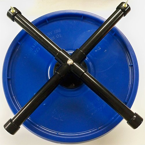 Pet-Exercise-Wheel-Pet-Wheel-for-Sugar-Gliders-Rats-Stealth-Wheel-Blue-XMount-by-Atticworx