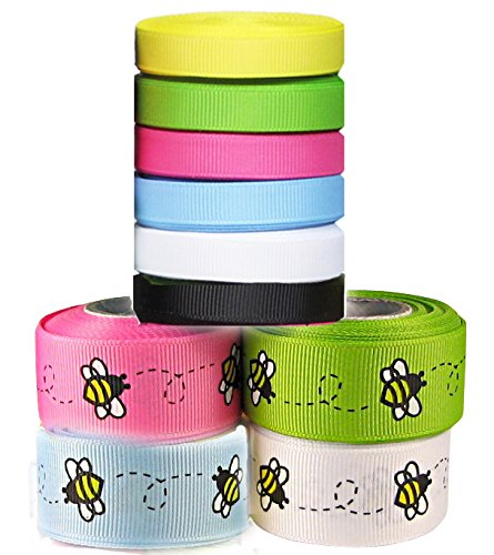 hipgirl-grosgrain-ribbon-collection-value-pack-50yd10x5yd-3-8-7-8-bee-ribbon-combo-color-may-vary