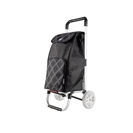 e51dd0394c10 Shopping Cart Luggage Cart Small Pull Cart Hand Truck Trolley ...