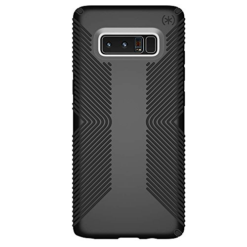 Speck Products Presidio Grip Cell Phone Case for Samsung Galaxy Note8 - Black/Black Presidio Grip