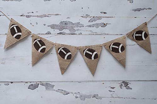 Football Party Decorations, Football Banner B088