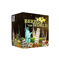 CALENDRIER DE L'AVENT BEERS OF THE WORLD MONUMENTS 24 BIERES + 1 VERRES