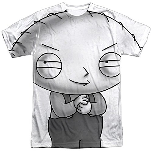 - Family Guy Comedy TVShow Stewie Plotting Adult Front Print T-Shirt XXXL
