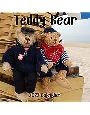 Teddy Bear 2022 Calendar: Teddy Bear 2022-2023 Calendar, 18 Months