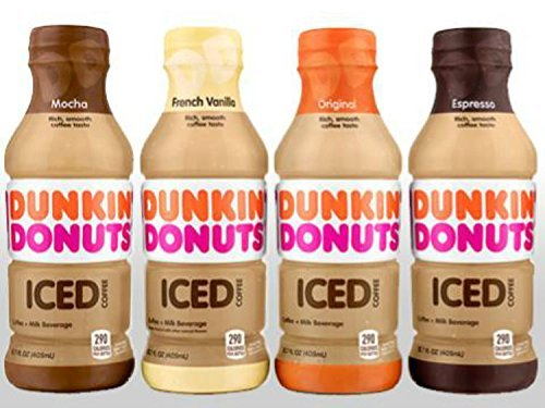 Dunkin' Donuts Bottled Ice Coffee 12 Pack (4 Flavor Variety Pack)