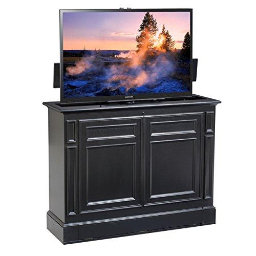 Chatham Black 360 Swivel TV Lift Cabinet