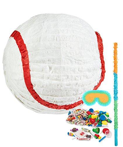 Birthday Express Baseball Time Party Supplies - Pinata Kit