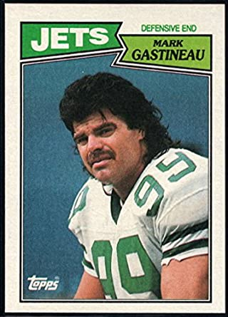 Amazon.com  Football NFL 1987 Topps  135 Mark Gastineau NM-MT+ NY ... 6982452da