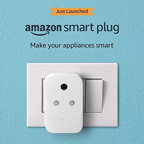 Introducing Amazon Smart Plug (works with Alexa) – 6A, Easy Set-Up