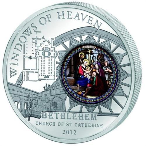 cook-2012-windows-of-heaven-bethlehem-church-st-catherine-50g-silver-proof-coin